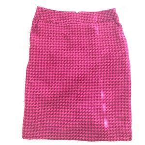 Merona Wool Houndstooth Skirt