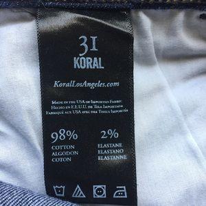 Koral Jeans - SALE Koral Kick Flare Jean