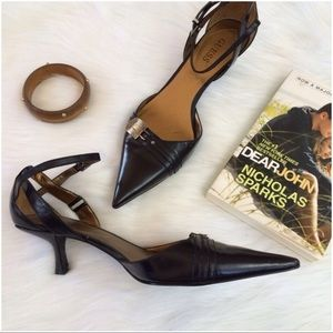 Shoes - Guess Ankle Strap Heels
