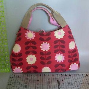 Orla Kiely Handbags - Orla Kiely cheerful red canvas purse!