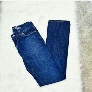 American Eagle Outfitters Denim - American Eagle Medium Wash Straight Leg Jeans