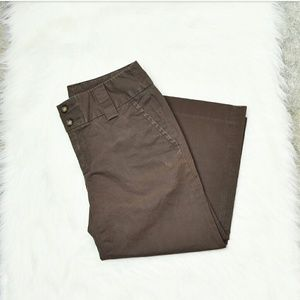 Banana Republic Pants - Banana Republic Stretch Light Brown Bermuda Shorts