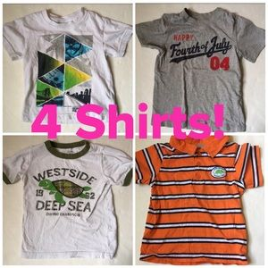 Carter's Other - 💥4 boys shirts