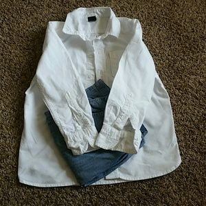 Pants - Top and dress shirt for picture day :)