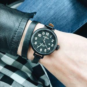 Shinola Accessories - *PRICE REDUCED* Rare Shinola Black Birdy Watch