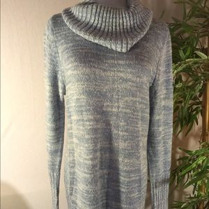 Thyme Sweaters - Medium Thyme Sweater Blue/Cream
