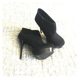 Charlotte Russe Shoes - Charlotte Russe Yassey Platform Stiletto Booties