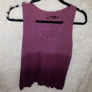 Prana Tops - PrAna purple ombre workout top size M