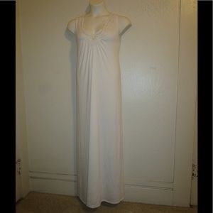 Cacique Dresses & Skirts - WHITE CROCHET MAXI DRESS BY CACIQUE *VARIOUS*