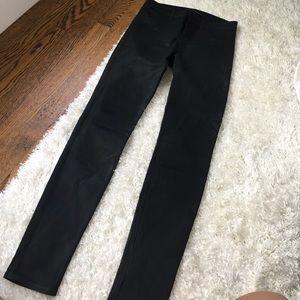 J brand leather like jean, size 27