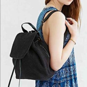 Urban Outfitters Handbags - NWT!!!!! BLACK urban outfitters mini backpack