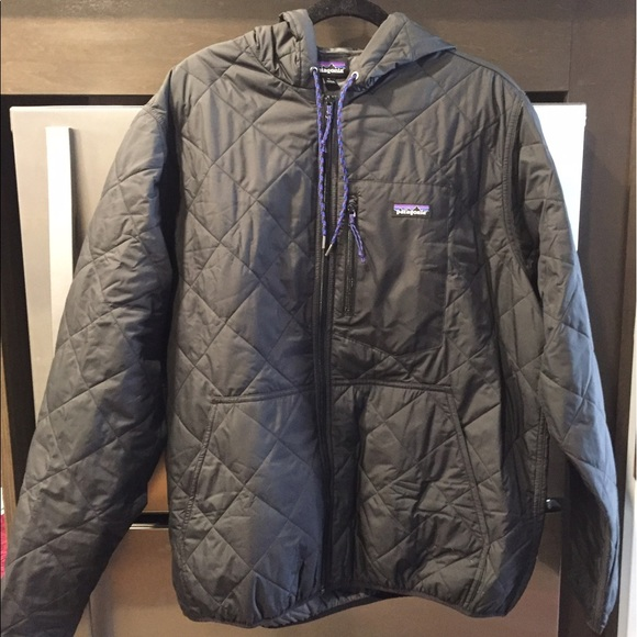 9d3621f29 Patagonia Men's Quilt Bomber Jacket Hoody NWT