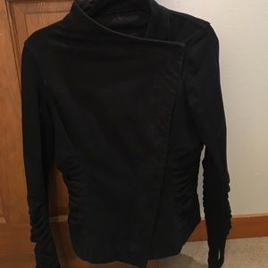 Lululemon cotton moto-jkt size 4