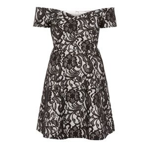 River Island Dresses & Skirts - NWT River Island B&W Lace Dress