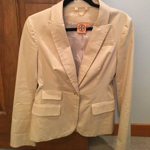 Tory Burch tan blazer