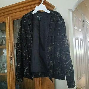 Carole Little Jackets & Blazers - Embroidered Light Jacket