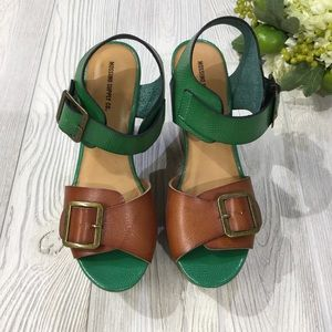 Mossimo Supply Co. Shoes - Colorblock Wedge