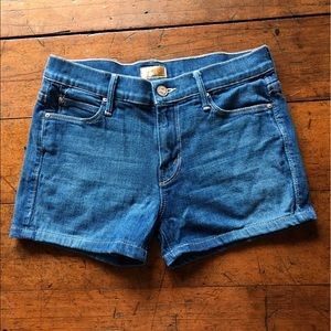 MOTHER Pants - MOTHER runaway Jean shorts