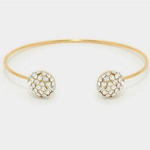 Jewelry - HP4x🏆🏆🏆🏆 Crystal Bangle Bracelet