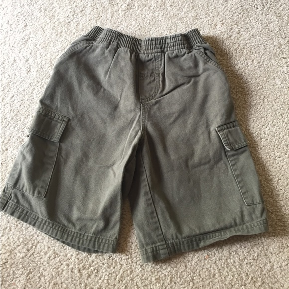 Circo Girls Toddlers Size 4t Olive Green Shorts Cargo Stretch Waist Clothing, Shoes & Accessories
