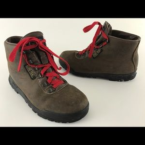 Vasque Shoes - Vasque Brown Cowhide Boots GoreTex Made in Italy