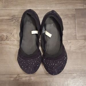 Mossimo Supply Co. Shoes - Black sparkly flats