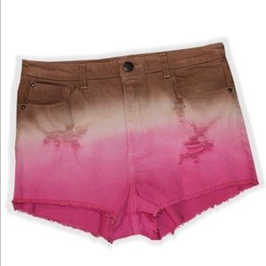 H&M Pants - NWT H&M Distressed Multicolor Shorts