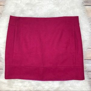J. Crew Factory Dresses & Skirts - J. Crew Factory Double Serge Mini Skirt