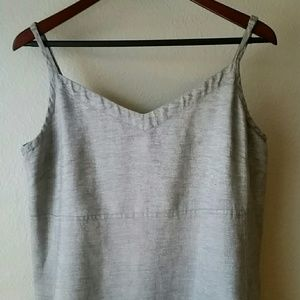 a5bdf2ce21f Eileen Fisher Dresses - Eileen Fisher Twinkle Linen Slip Dress size L
