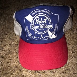 Accessories - Vintage PBR Trucker Hat
