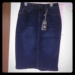Dresses & Skirts - Denim pencil skirt