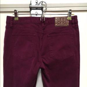 Tory Burch Jeans - Tory Burch Purple Ivy Super Skinny Jeans Sz 29