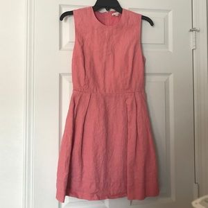 Coral Gap Dress with pockets