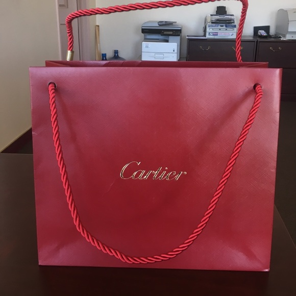 Cartier - Shopping bag Cartier from Annie's closet on Poshmark