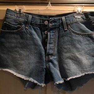 Levi's Pants - Levi's 501 cutoff Jean shorts