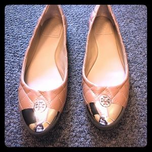 Tory Burch Kaitlin Ballet Flats **almost new!**