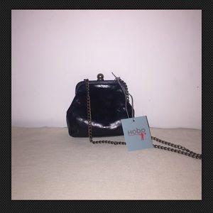 HOBO Handbags - HOBO Libby Mini Crossbody Black Purse Chain Strap