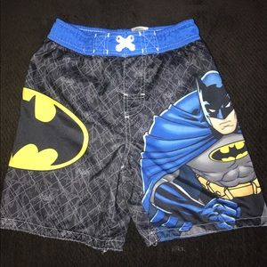 Other - Boys Batman Swim trunks shorts 5 5t