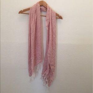 {Nordstrom} Lola stripe tassel scarf