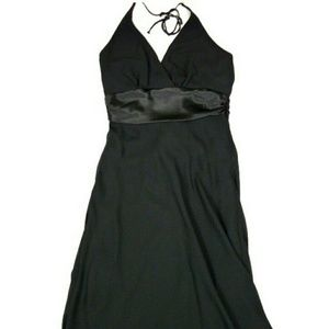 rabbit designs Chiffon Halter Dress