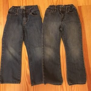2 pair of boys jeans size 6