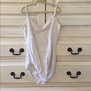 natalie Other - White Natalie Ballet Leotard Size S