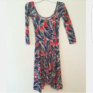 Rachel Pally Dresses & Skirts - Rachel Pally Blue Print Modal Jersey Knit Dress