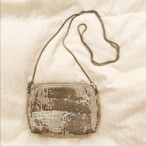 Cleobella Handbags - vintage silver mini purse