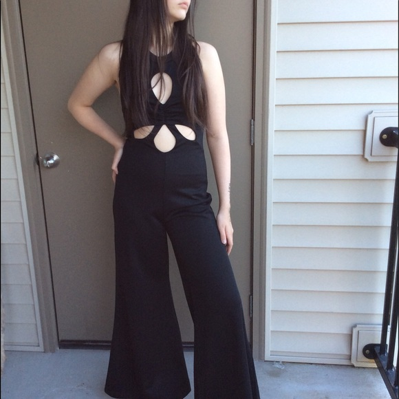 e49661768628 jcpenney Other - Black Vintage Bell-bottoms Jumpsuit from the 70 s