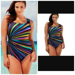 Plus Size Bikini Swimwear For Women One-Piece
