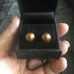 Honora Jewelry - Honora 14k chocolate freshwater pearls