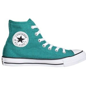 Converse Shoes - Converse Chuck Taylor's all star Women teal shoes