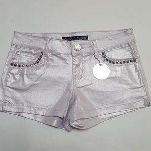 Luvly Treasures Pants - 🆕Metallic Luvly Shorts😍