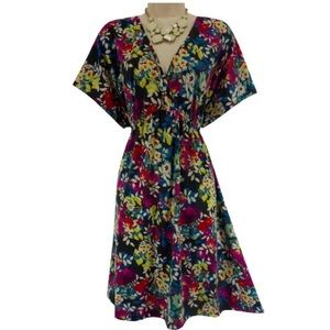 Pure Energy Dresses & Skirts - 3X 22 24 BEAUTIFUL FLORAL EMPIRE DRESS Plus Size